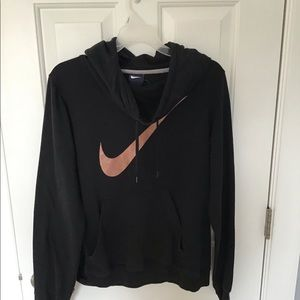 Nike women's hoodie with large neck